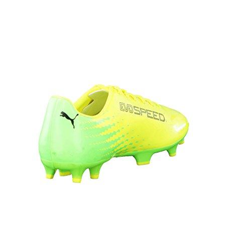 Puma Evospeed 17.4FG–Botas de fútbol para hombre, neongelb / neongrün, 11,5 UK - 46,5 UE