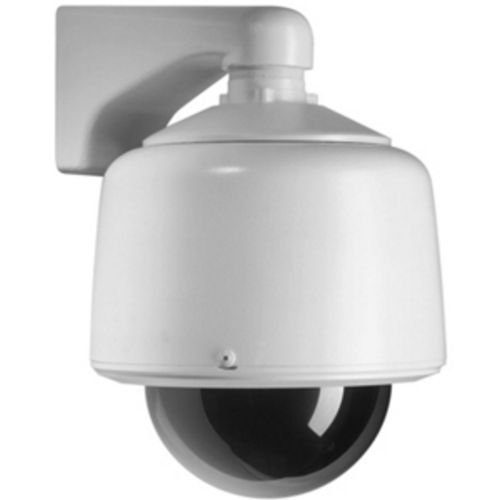 Pelco DF5-1 Indoor, 5-inch in-ceiling discreet dome with fixed camera mount and clear lower dome with opaque liner (for virtually no light loss). ()