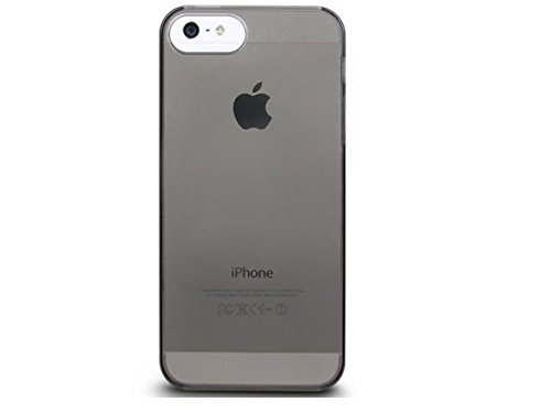 The Joy Factory Alton - Clear Ultra-Slim Hardshell Case for iPhone5/5S, CSD138 (Smoke)