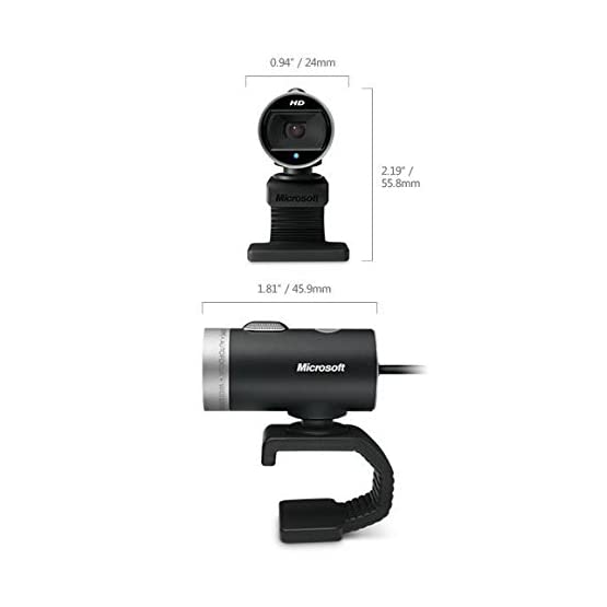 Microsoft LifeCam Cinema 720p HD Webcam for Business - Black 31APs3d3NWL. SS555
