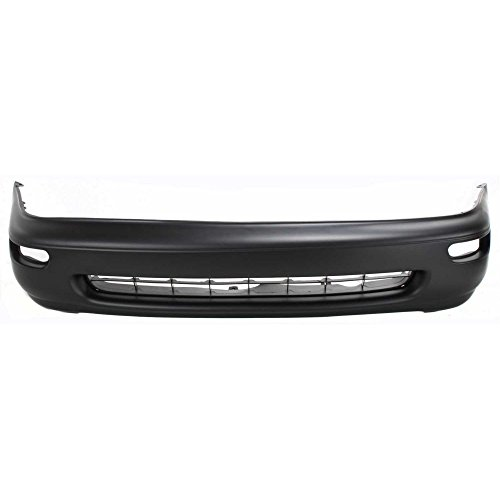 Front Bumper Cover Primed Compatible with 1993-1997 Toyota Corolla