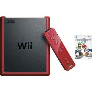 RED WII MINI CONSOLE SYSTEM