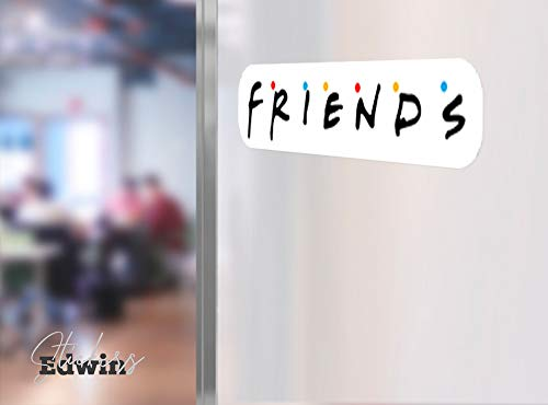 Edwin Group of Companies Friends Wall Decal Large Vinyl for Car Bumper 14