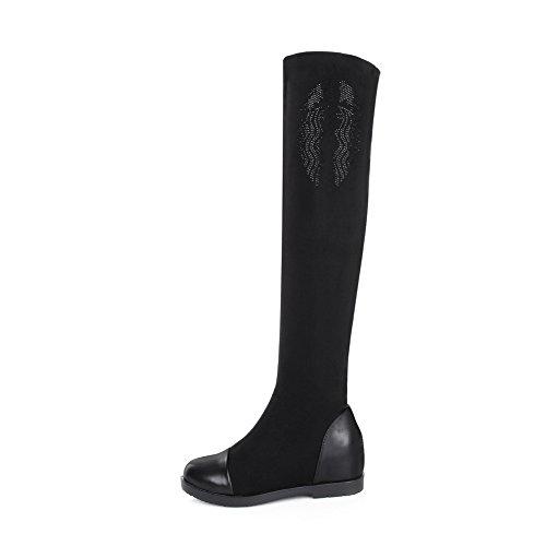 1TO9 1TO9Mns02012 - Zapatilla Alta Mujer negro