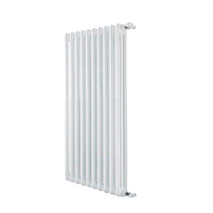 DeLonghi 670 DL - Radiador tubular de acero de 3 columnas y 4 elementos