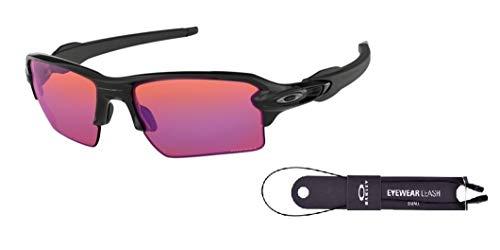 59a968e388971 Oakley Flak 2.0 XL OO9188 918806 59M Polished Black Prizm Trail Sunglasses  For Men+