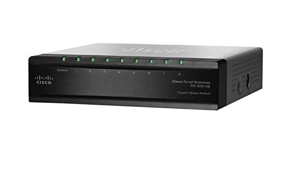 Cisco SG200-08 Gestionado L2 Gris - Switch de red (Managed, L2): Amazon.es: Informática