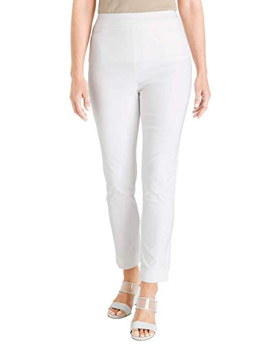 Chico's Women's So Slimming Brigitte Slim Ankle Pants Size 16 XL (3 REG) White ()