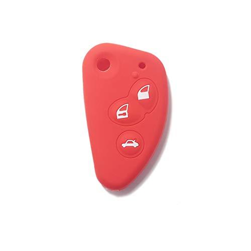 Cubierta de silicona para llave con control remoto Alfa Romeo 145 146 147 156 159 164 166 GT GTA Spider Brera Mito, Varios colores, Idea para regalo, ...