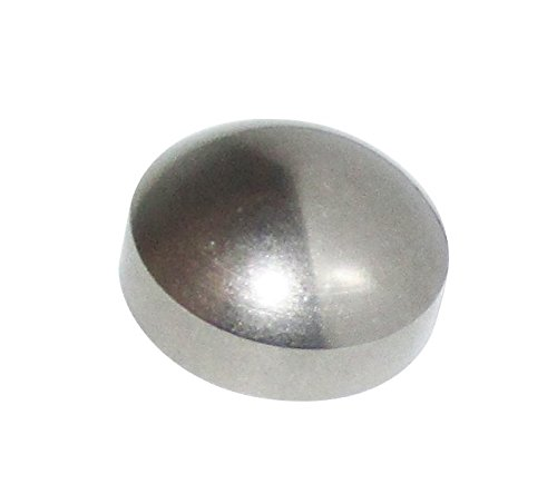 Glass Cap Railing (PanaView Stainless Steel Dome Decorative End Caps for Cable Railing Systems (9 Pack))