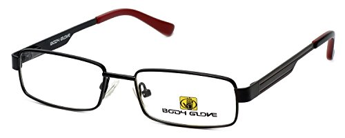 Body Glove Designer Eyeglasses BB127 in Black SMALL SIZE DEMO LENS ()