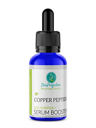 - Copper Peptide BEST Anti-Aging Serum Booster DIY Make Your Own Face Cream or Hair Tonic with GHK GHK-Cu Tripeptide-1 Anti Wrinkle Collagen Boost Youthful-looking Regenerate Mature Skin Perfection