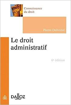le droit administratif co uk delvolv 233 9782247127511 books