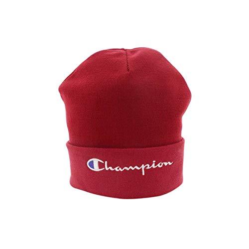 Champion Reverse Weave Beanie Cap, Gorro de Punto Unisex Adulto Rojo (Scr Rs008)