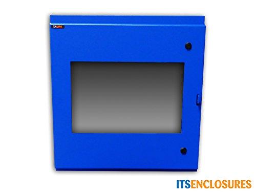 Heavy-Duty NEMA 4 Flat Panel Monitor Enclosure, Includes Recirculating Fan and VESA Mount by ITSENCLOSURES