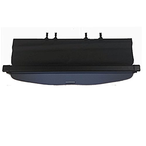 (Kaungka Cargo Cover Retractable Compatible with 14-18 SubAru Forester Black (with power rear gate))