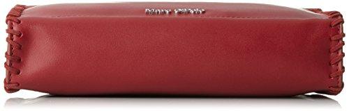 Marc OPolo Damen Mini Umhängetasche, 5x17x25 cm Rot (Cherry)
