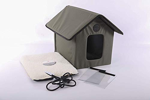 K&H Manufacturing Outdoor Kitty House, Heated