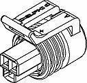 Automotive Connectors 3P FM BLK CON ASSY 150 SERIES 14 AMPS (10 pieces)