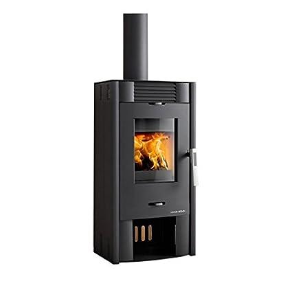 HAAS + SOHN chimenea ANDRO 7 kW horno de leña estufa de leña