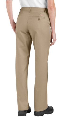 Pant Dickies Caqui Frente Industrial Mujeres Piso Fp322 Xwq8gwz