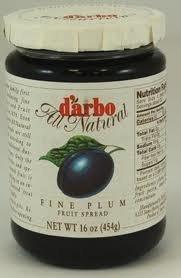 (d'arbo All Natural Fine Plum Fruit Spread, 16 Ounce)