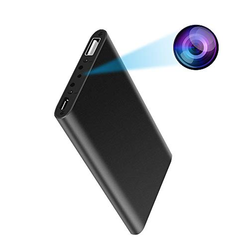 Hidden Camera Power Bank 1080P HD Spy Camera Motion Activated Video Recording P2P Connect Security Camera Nanny Cam