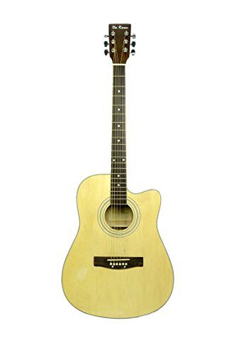 De Rosa GA300CE NATURAL finish Acoustic Electric Guitar with ACCESSORIES by De Rosa