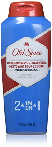 Old Spice High Endurance Hair Body Wash 18 oz Pack of 10
