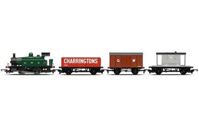 hornby-r2670-00-gauge-0-4-0-open-wagon-clsed-van-brake-van-railroad-train-pack