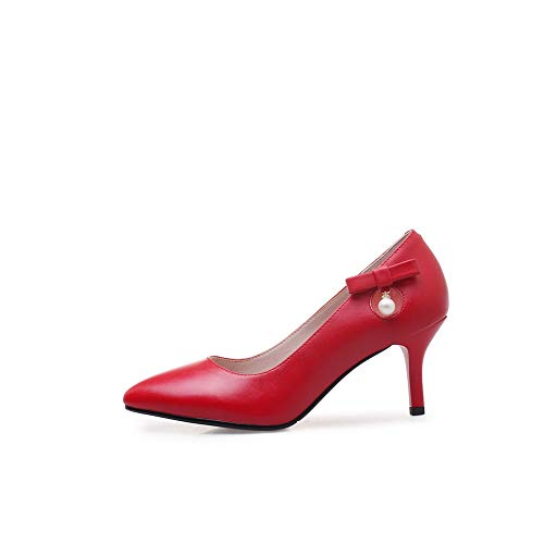 Dgu00723 Red Con Zeppa Donna Sandali An Fq0747