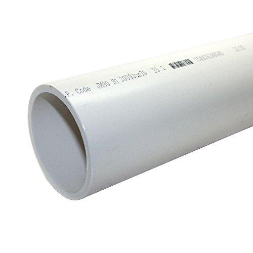 "PVC PIPE SCH40 1/2"" X 2' by CHARLOTTE PIPE MfrPartNo PVC 040"