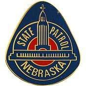 Lapel Nebraska Pin - Nebraska - Original Artwork, Expertly Designed PIN - 1
