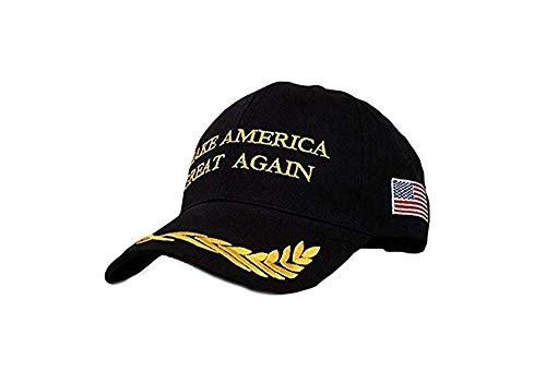 Make America Great Again Hat [Black], Donald Trump USA MAGA Cap Adjustable Baseball - Cap Confederate Ball Flag