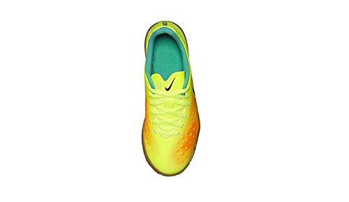 Nike Jr Magistax Ola II IC, Botas de Fútbol Para Niños Yellow