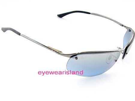 421df4a51d New Ray Ban Rb 3179 004 7C Sunglasses 63-15-125 Light Blue Lens ...