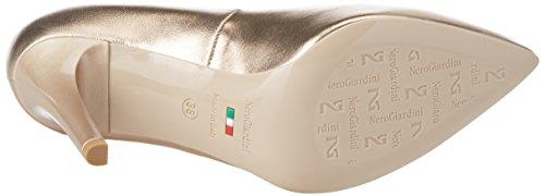 Punta Giardini Tacco Donna Marrone Chiusa Scarpe col Dimona Nero zqPwSw