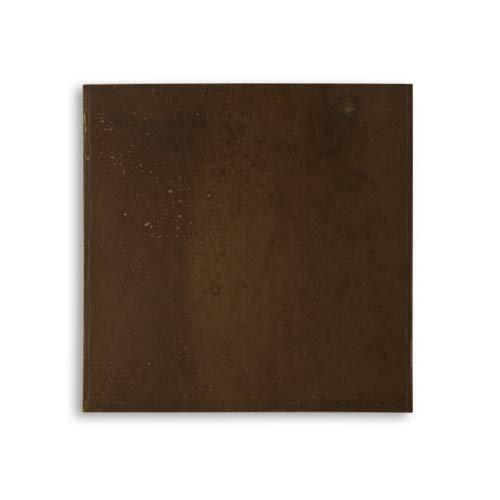 Vintaj Natural Brass Altered Blank Canvas 3x3 Inch Square Metal Sheet