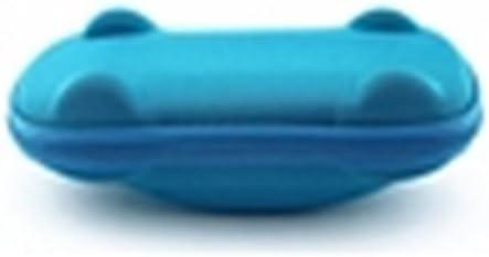 Lumanuby Sunglasses Case Children Boys And Girls Cartoon Car Design EVA Glasses Box Pattern Sunglasses Zipper Box Protect Glasses