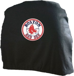 MLB Boston Red Sox Head Rest Covers, 2-Pack