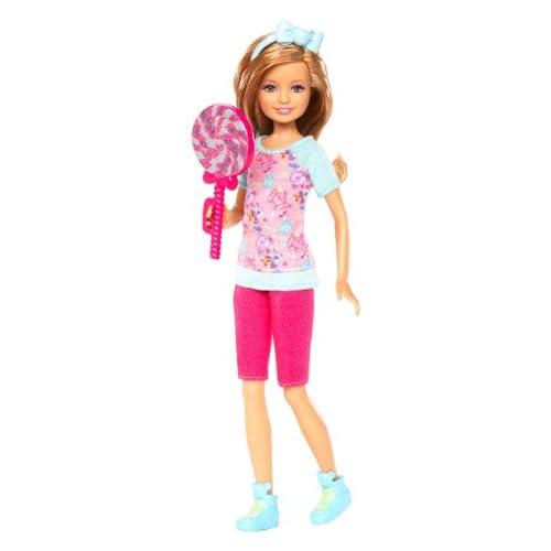Barbie X9055 - Poupée - Stacie et sa Sucette Géante