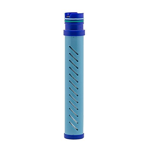 LifeStraw Go Water Bottle 2-Stage Replacement Filter, Blue