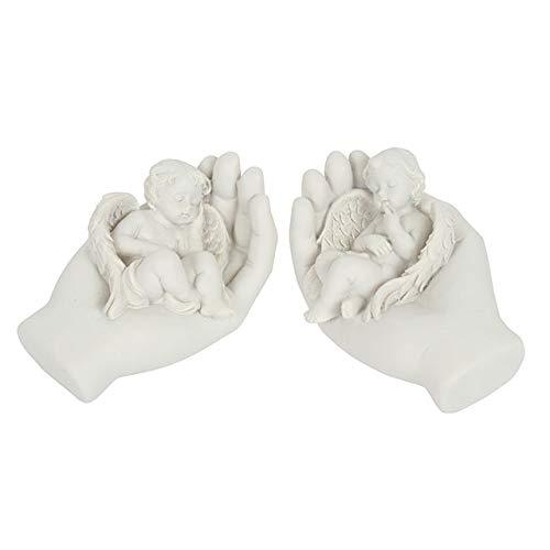 Hunky Dory Gifts Sleep Tight Sleeping Baby In Hands Statue Memorial Ornament Garden Figurine 18Cm