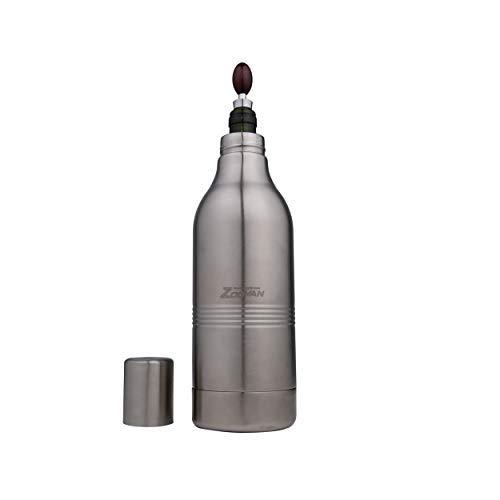 ZooVAN Wine Chiller Bucket - Wine Cooler Bucket For 750ml Bottles - Stainless Steel Wine Cooler to Keep Wine Cold
