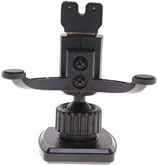 ibasenice telefoonhouder houdermagnetische auto telefoonhouder auto driehoek airconditioning Outlet 360 graden draaibaar navigatiehouder voor auto zwart