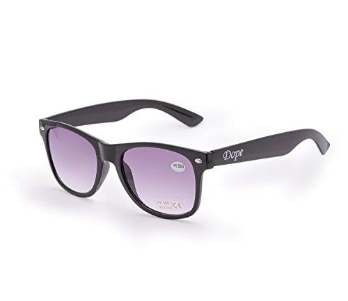 de UV nbsp;marrón UV400 4sold lectura Estilo hombre de 4sold Dope de gafas gafas nbsp;fuerza Mujer lectores Unisex Sun para sol 5 1 sol carey marca Reader gqgURI