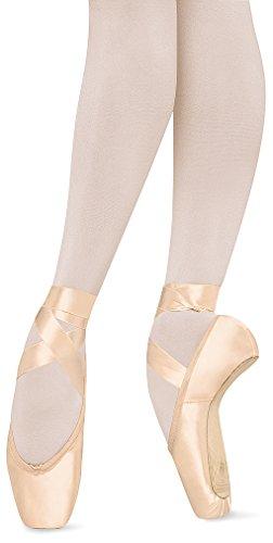 Bloch Women's Suprima Pointe Pink Ballet Flats 4 B