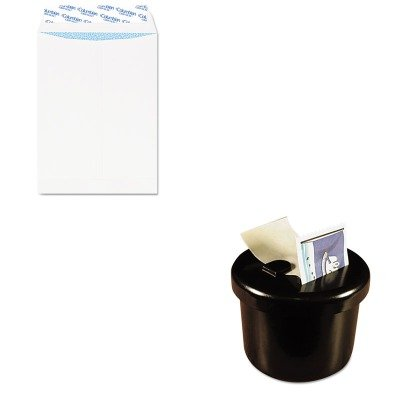 KITLEE40100QUACO929 - Value Kit - Columbian Grip-Seal Security Tinted Catalog Envelopes (QUACO929) and Lee Ultimate Stamp Dispenser (LEE40100)