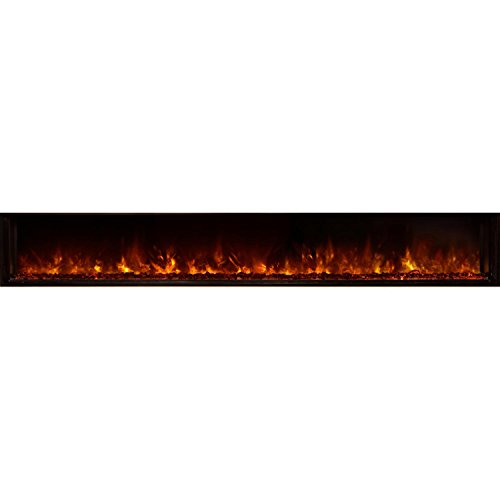 Cheap Modern Flames LFV2-100/15-SH Landscape Fullview Built in Electric Fireplace (Clean Face) 100