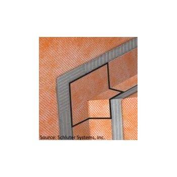 Schluter Kereck Inside Corner Shower Bench Membrane Qty 2